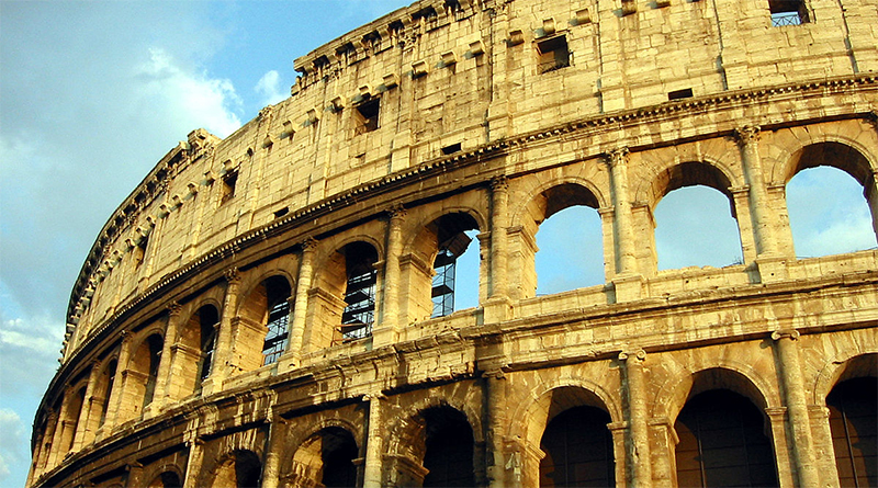 Rome Colosseum Featured