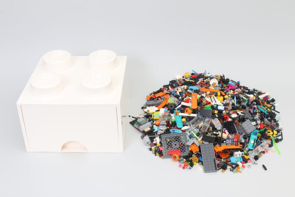 Room Copenhagen LEGO Brick Desk And Drawer Storage Review 10