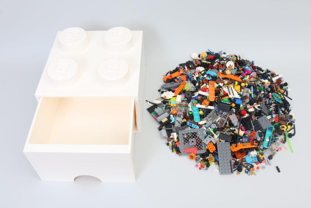Room Copenhagen LEGO Brick Desk And Drawer Storage Review 11
