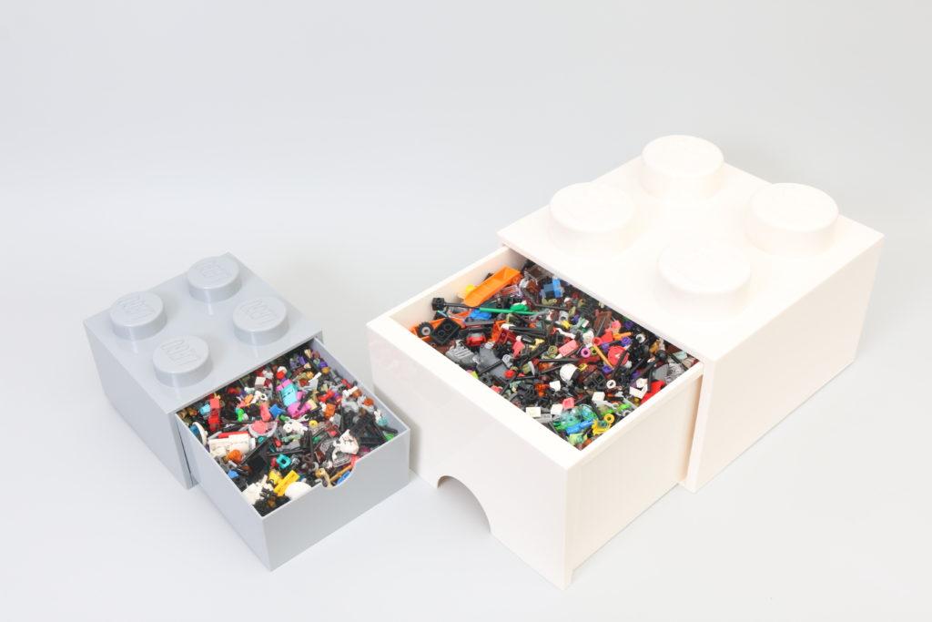 Room Copenhagen LEGO Brick Desk And Drawer Storage Review 12