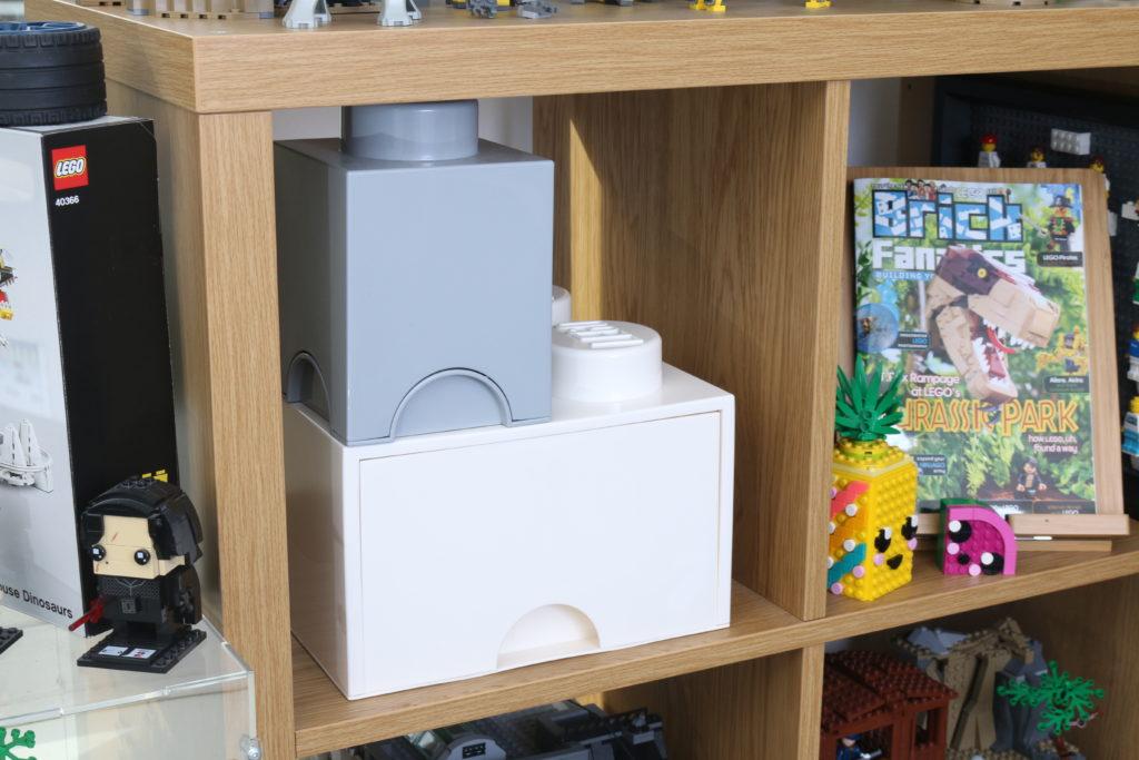 Room Copenhagen LEGO Brick Desk And Drawer Storage Review 18