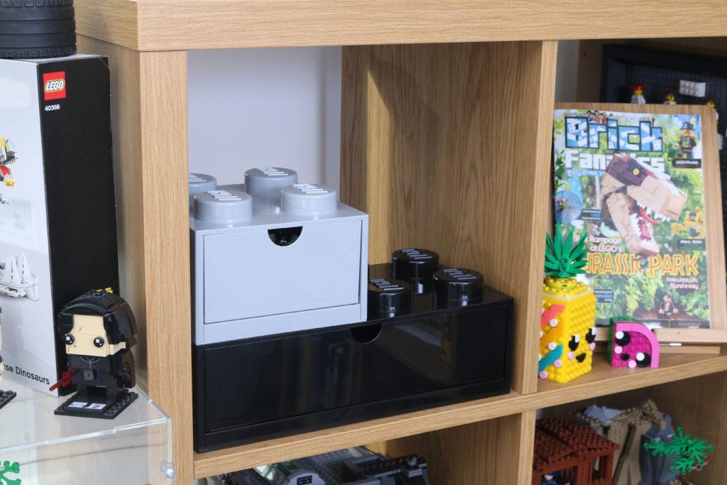 Room Copenhagen LEGO Brick Desk And Drawer Storage Review 19
