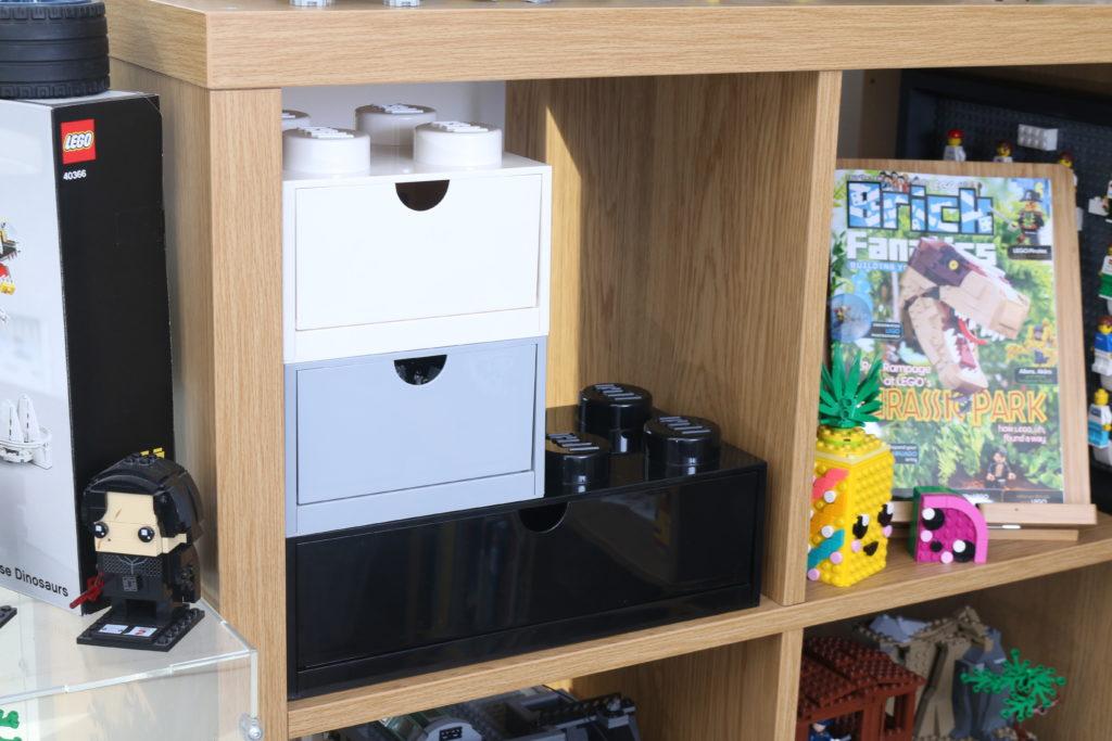 Room Copenhagen LEGO Brick Desk And Drawer Storage Review 20