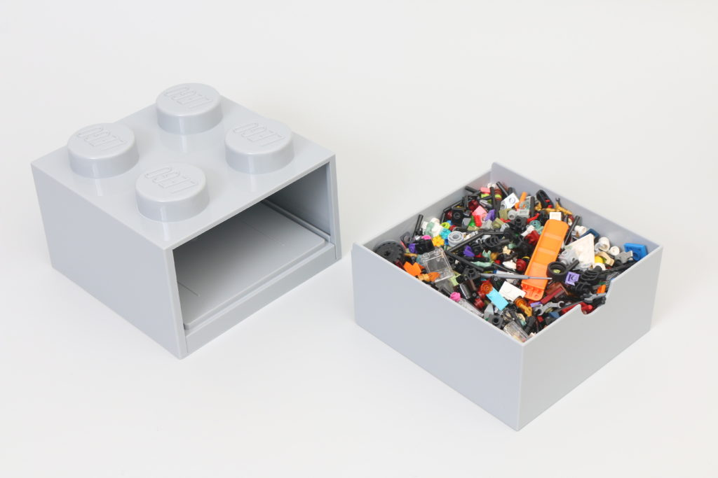 Room Copenhagen LEGO Brick Desk And Drawer Storage Review 5