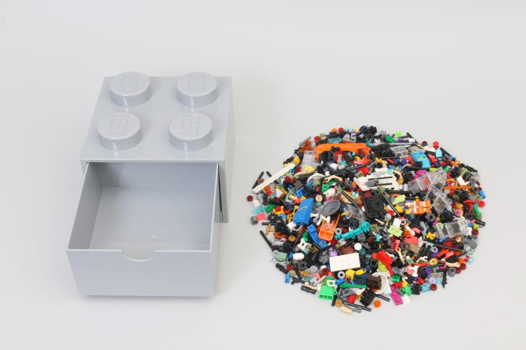 Room Copenhagen LEGO Brick Desk And Drawer Storage Review 7