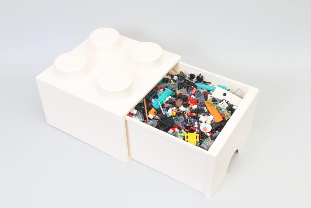 Room Copenhagen LEGO Brick Desk And Drawer Storage Review 8