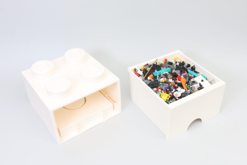 Room Copenhagen LEGO Brick Desk And Drawer Storage Review 9