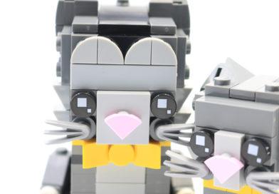 LEGO BrickHeadz 40441 Shorthair Cats review