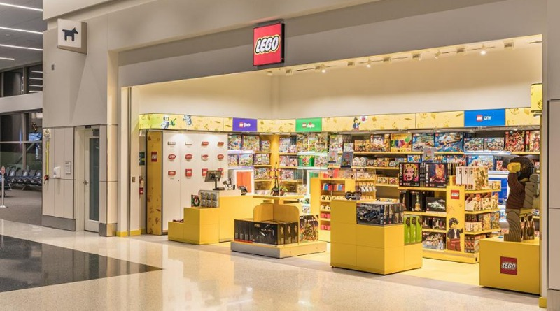 Salt Lake City International Airport LEGO Store Featured