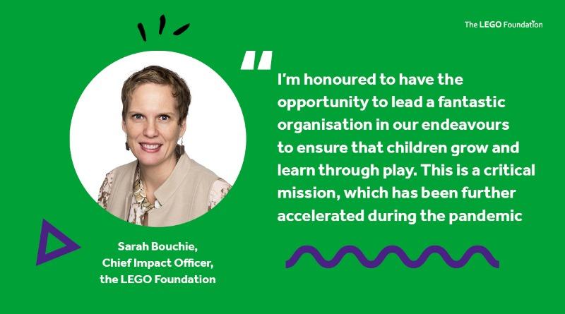 Sarah Bouchie LEGO Foundation Featured