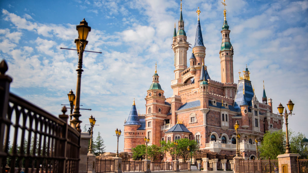 Shanghai Disney Resort Enchanted Storybook Castle