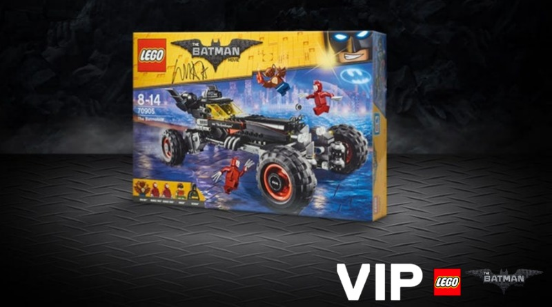 One week left to win The LEGO Batman Movie set signed by Will Arnett