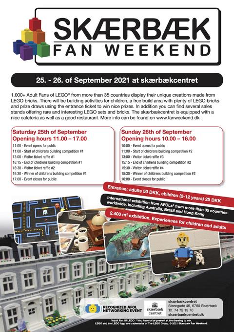 Skaerbaek Fan Weekend Poster 2021