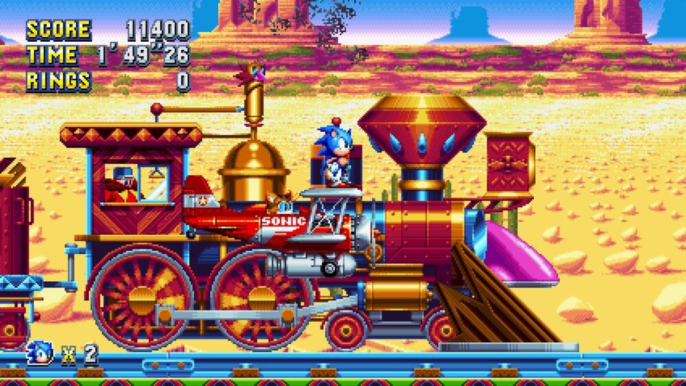 Sonic Mania Mirage Saloon Zone