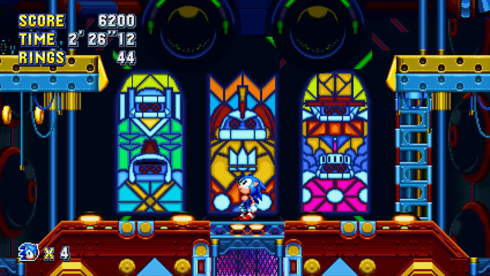 Sonic Mania Titan Monarch Zone