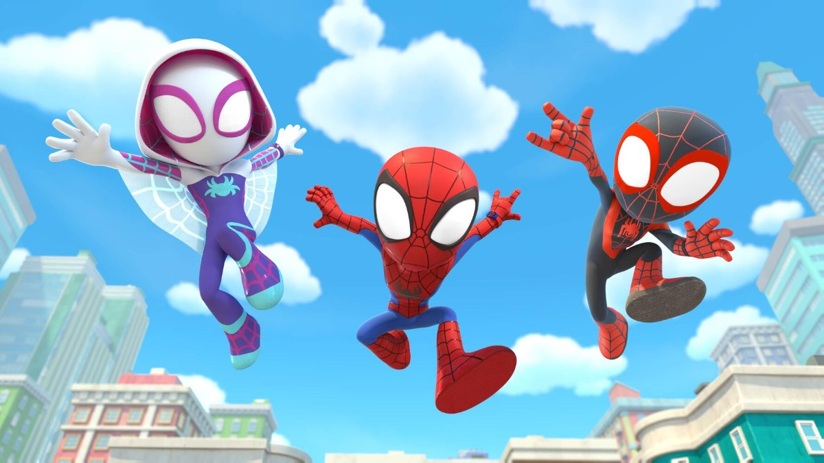 Spidey And His Amazing Friends Featured