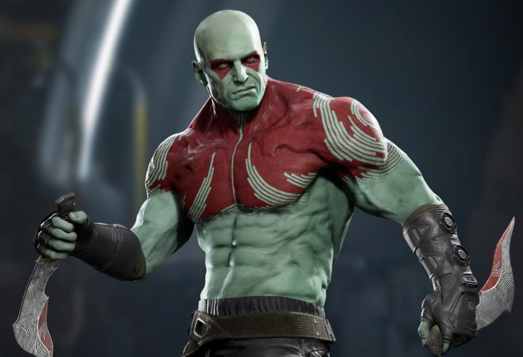 Square Enix Marvel Guardians of the Galaxy Drax character art 1