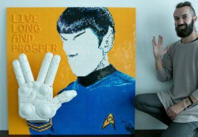LEGO MASTERS' Sam pays homage to Star Trek creator