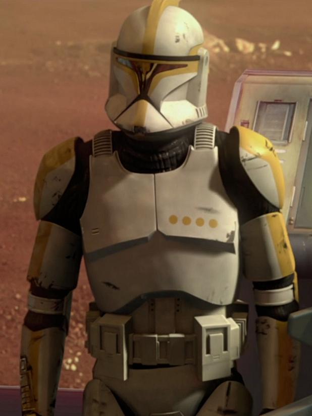 Star Wars Attack of the Clones Clone Commander