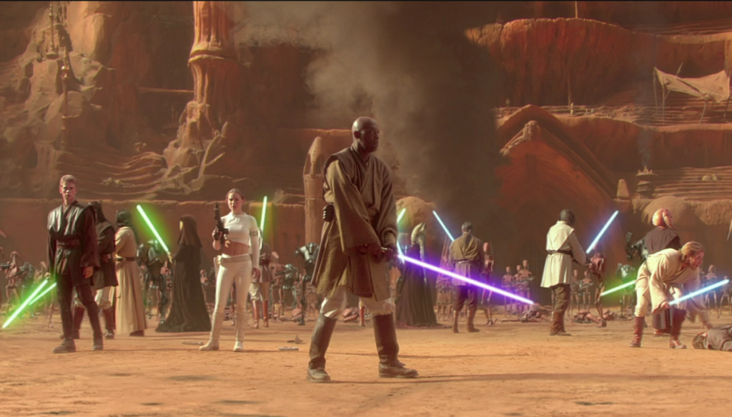 Star Wars Geonosis arena 1
