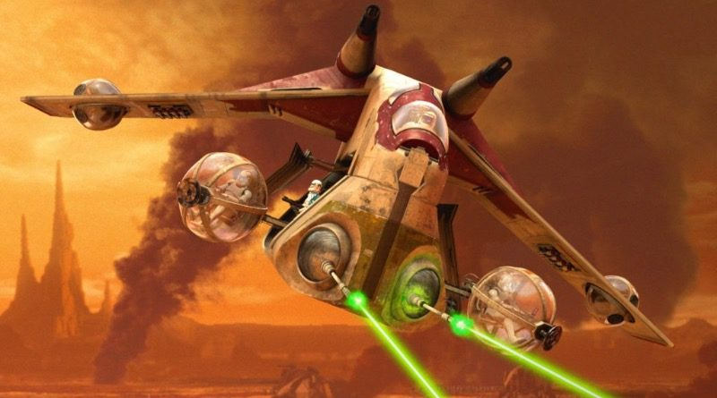 Star Wars Republic Gunship featured