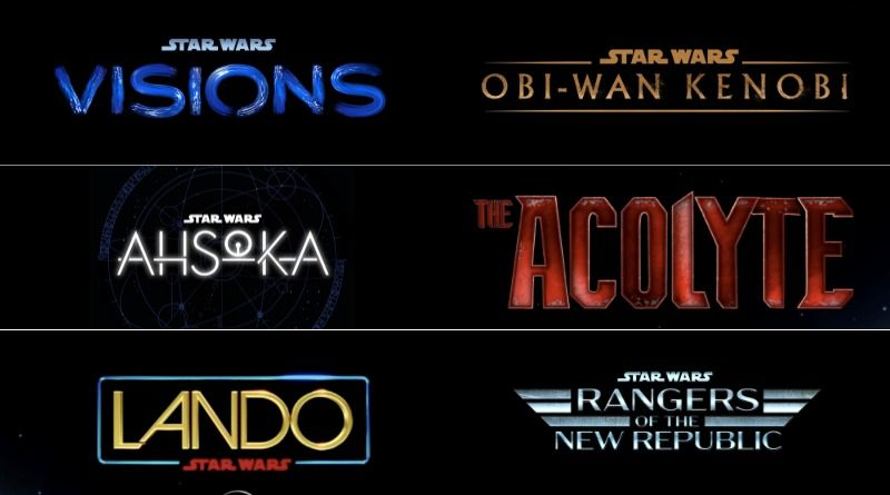 Star Wars TV Shows Logos 800x445