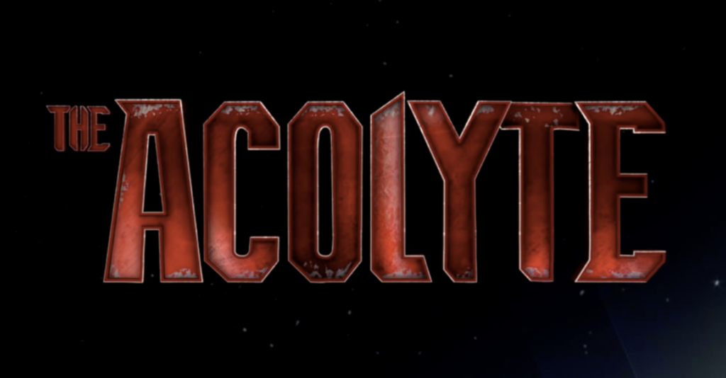 Star Wars The Acolyte Logo