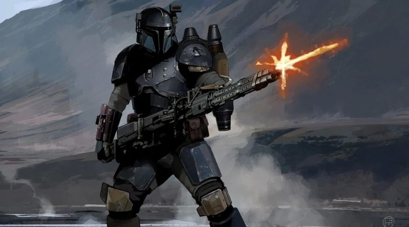 Star Wars The Mandalorian Paz Vizla Concept Art Featured 800x445