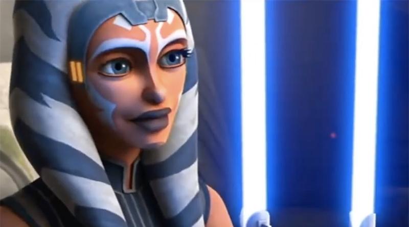 Ahsoka in Star Wars: The Clone Wars