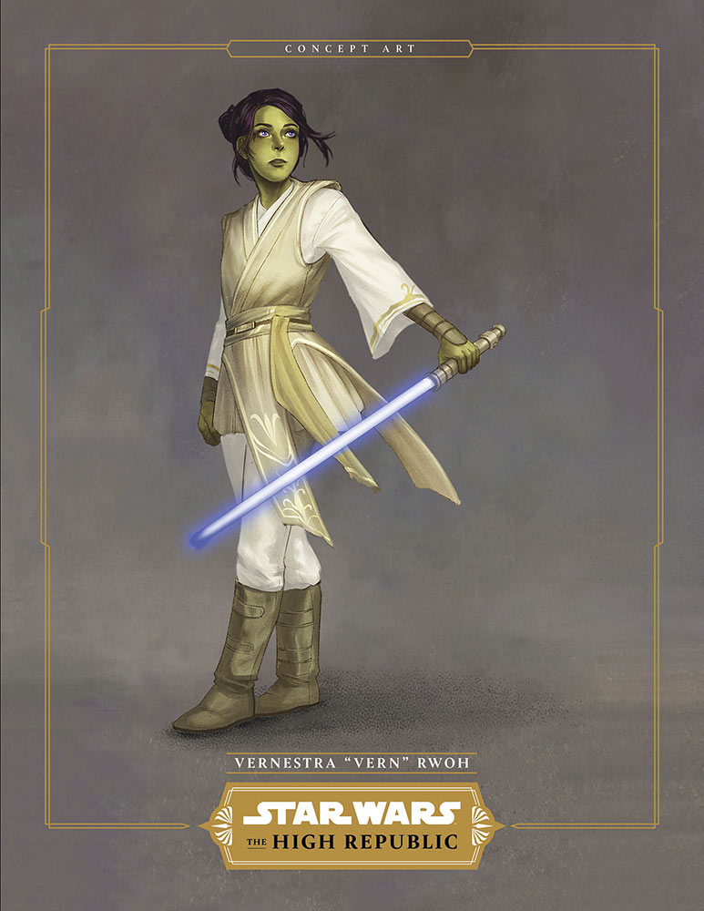 Star Wars Vernestra Rwoh