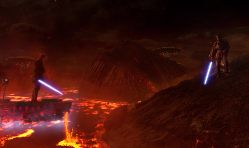 Star Wars mustafar battle