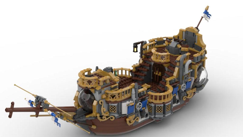 Steampunk Airship LEGO Ideas No Balloon 1 1