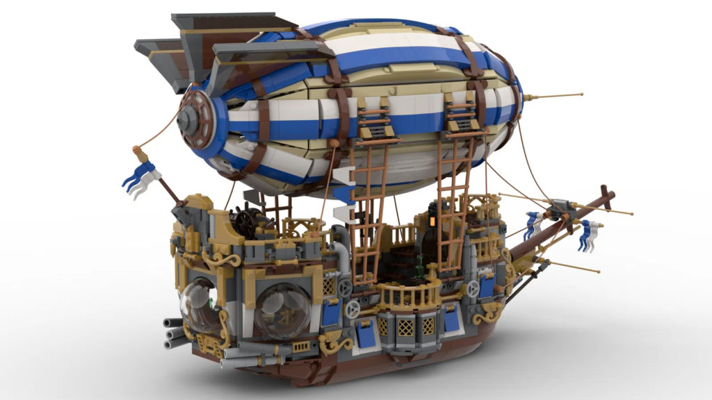 Steampunk Airship LEGO Ideas Side 1 1
