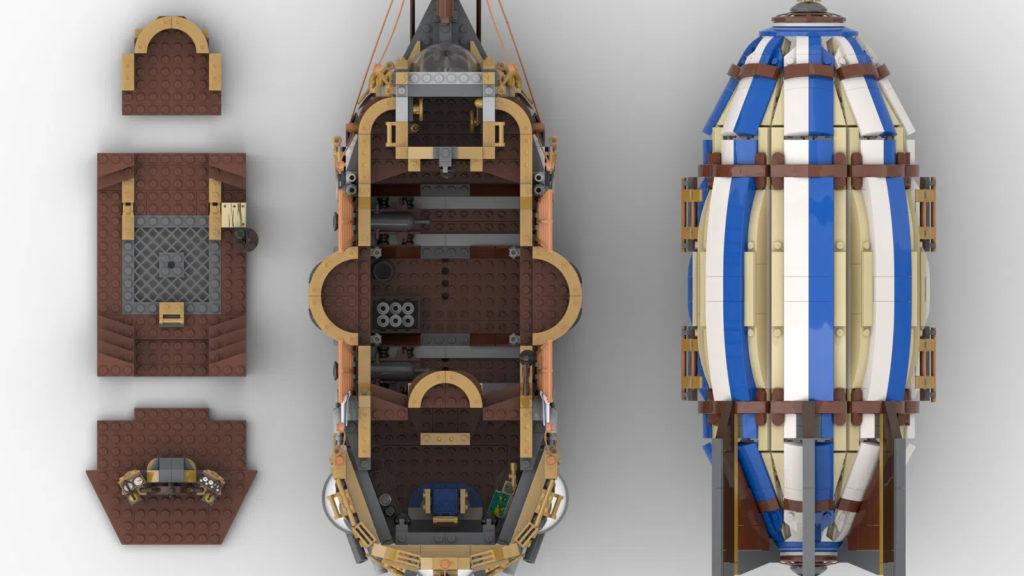 Steampunk Airship LEGO Ideas Top 1