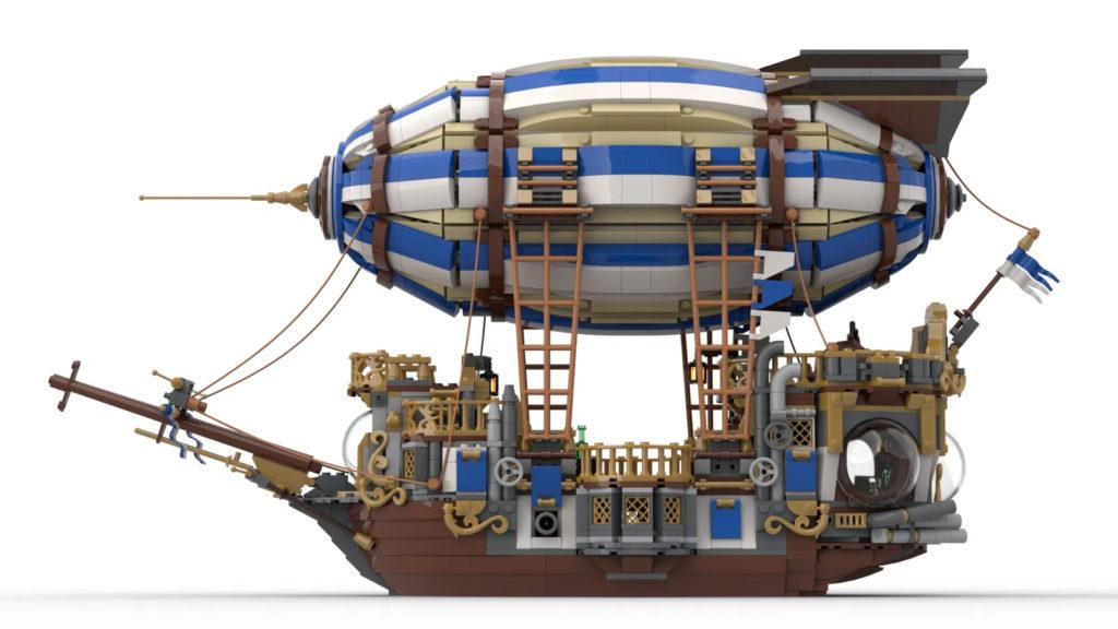 Steampunk Airship Lego Ideas Side 2