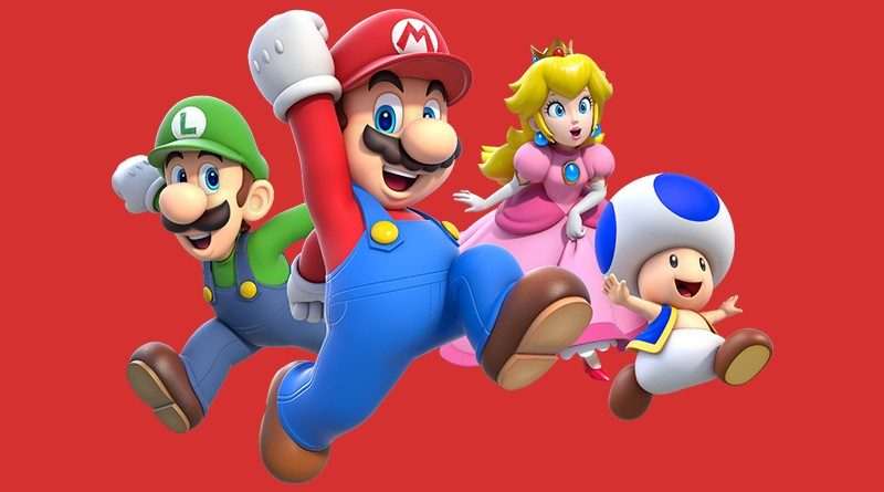 Super Mario 3D World characters featured