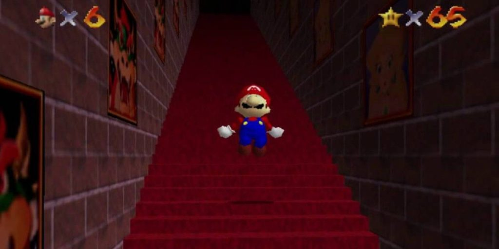 Super Mario 64 endless stairs
