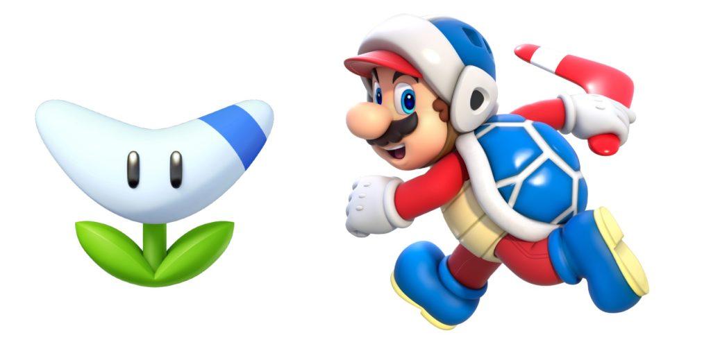 Super Mario Boomerang Power up list