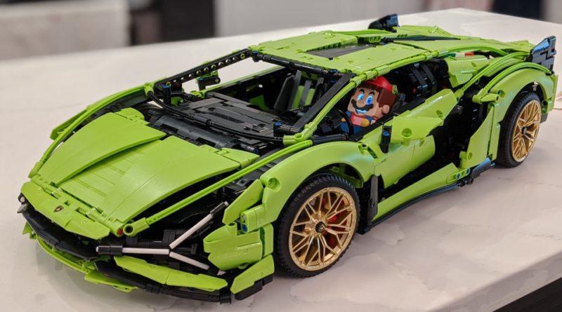 Super Mario Lamborghini 800x445