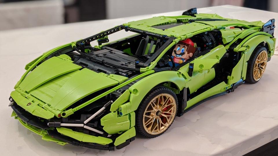 Super Mario Lamborghini