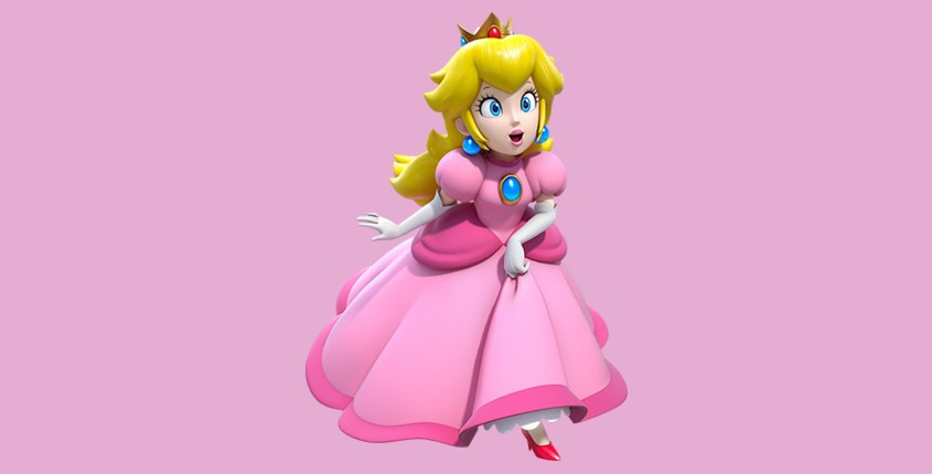 Super Mario Princess Peach