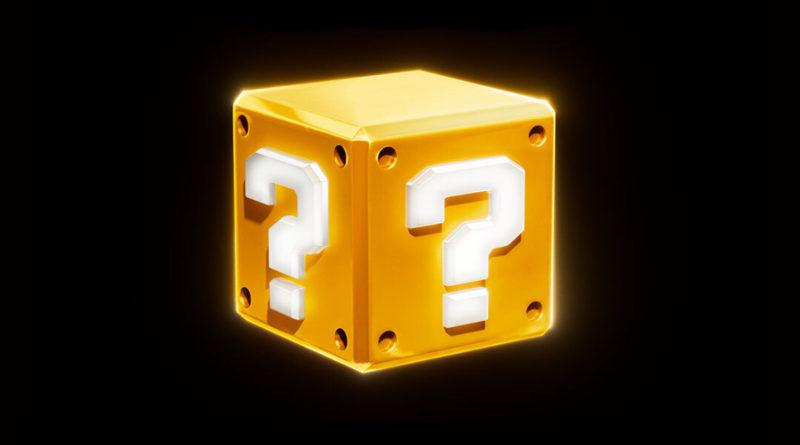 Super Mario movie question mark block poster featured