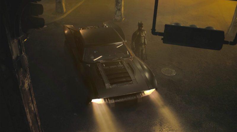 The Batman Batmobile featured