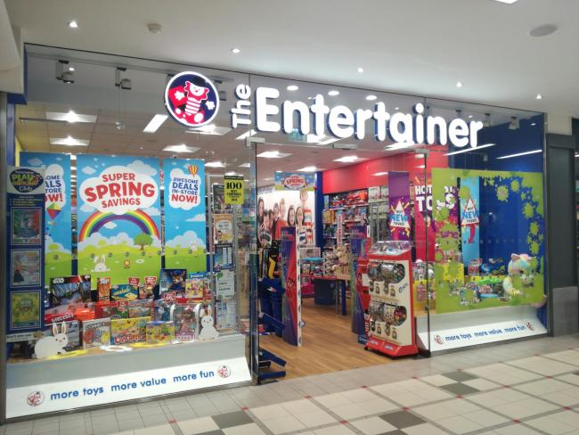 The Entertainer Storefront