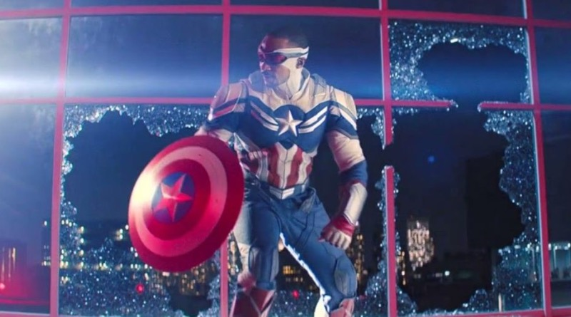 The Falcon And The Winter Soldier Captain America Sam Wilson Featured