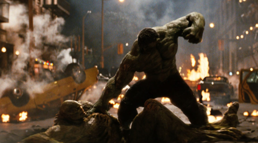 The Incredible Hulk abomination fight