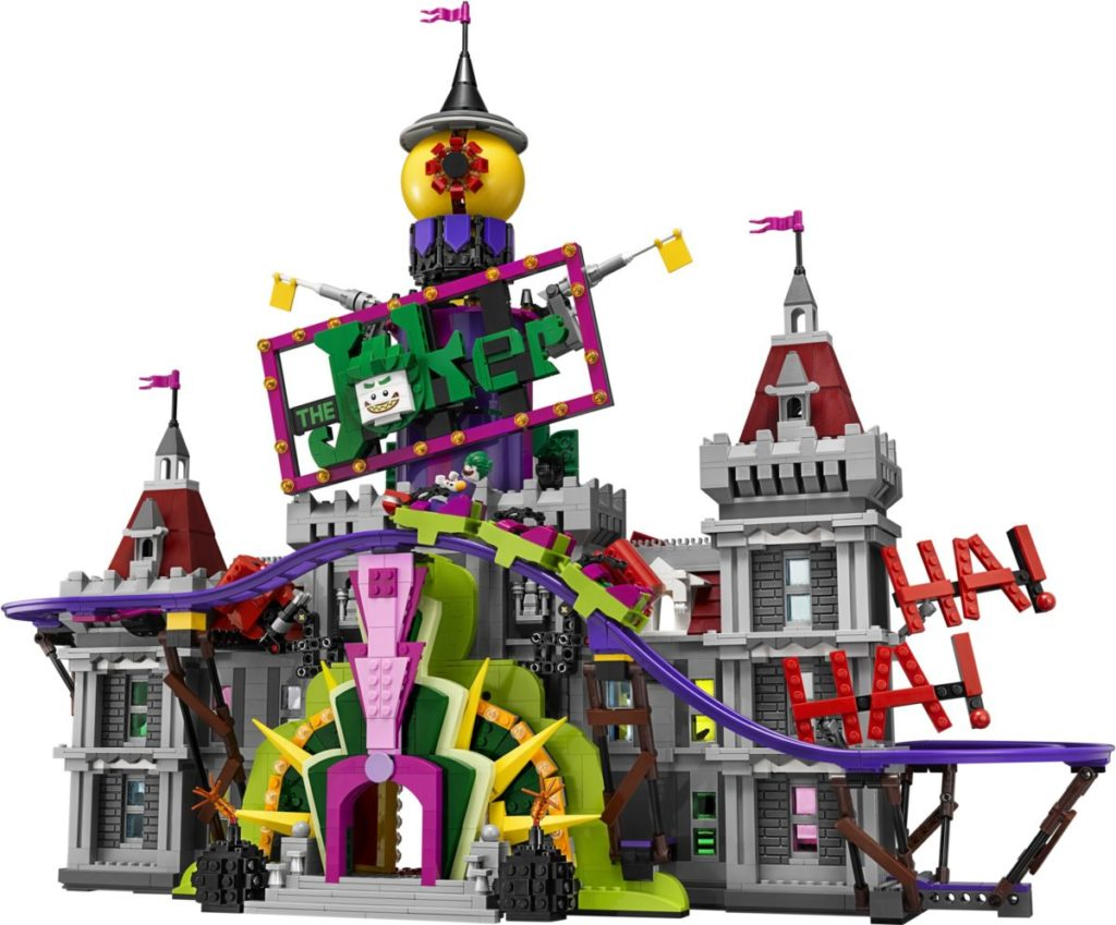 The LEGO Batman Movie 70922 Joker Manor