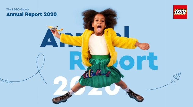 The LEGO Group Annual Report 2020 featured