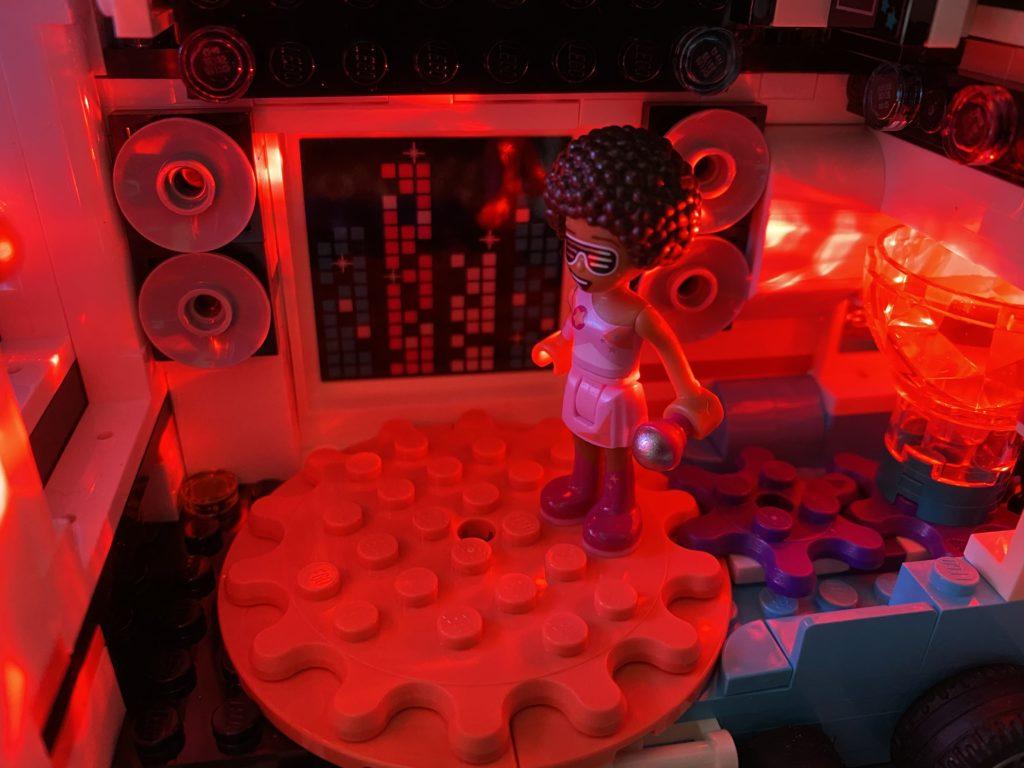 The LEGO Movie 2 70828 Pop Up Party Bus light brick