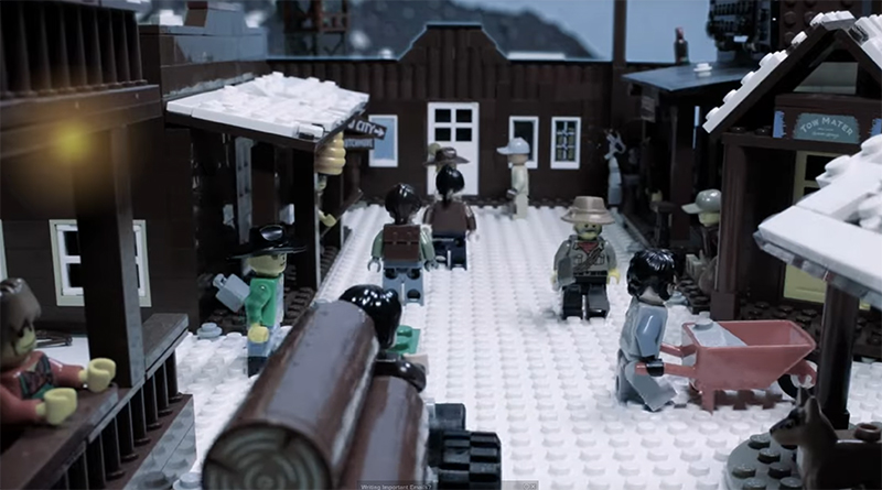 The Last Of Us Part 2 LEGO Trailer Featured